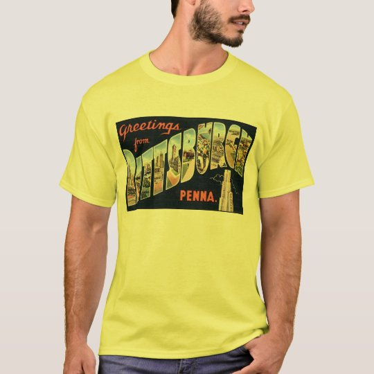 Vintage Pittsburgh Postcard T-Shirt
