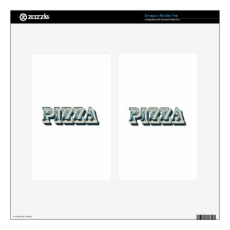 Vintage Pizza for trendy hipsters and foodies Decal For Kindle Fire