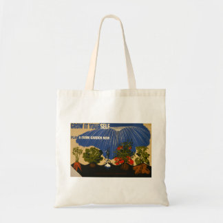 """Vintage """"plan bolso de WPA de un jardín"""""""