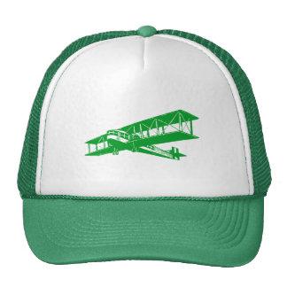 Vintage Plane - Grass Green Trucker Hat