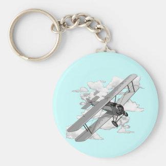 Vintage Plane Keychain