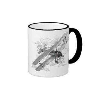 Vintage Plane Mugs