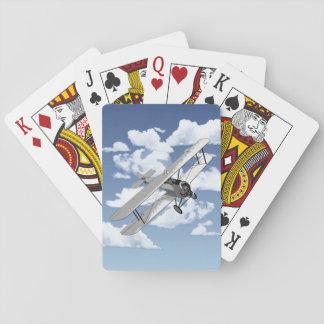 Vintage Plane Poker Deck