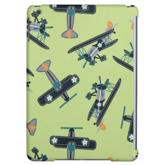 Vintage planes iPad air cover