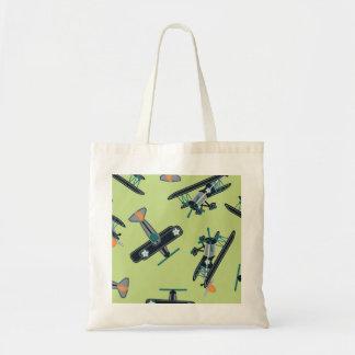 Vintage planes tote bag