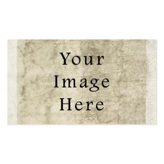 Vintage Plaster Beige Parchment Paper Background Business Card