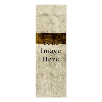Vintage Plaster Beige Tan Brown Parchment Paper Business Card Template