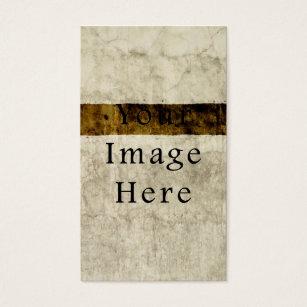 Plaster business cards templates zazzle vintage plaster beige tan brown parchment paper business card fbccfo Image collections