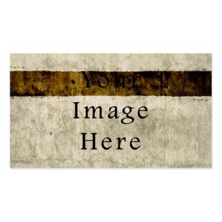 Vintage Plaster Beige Tan Brown Parchment Paper Business Card