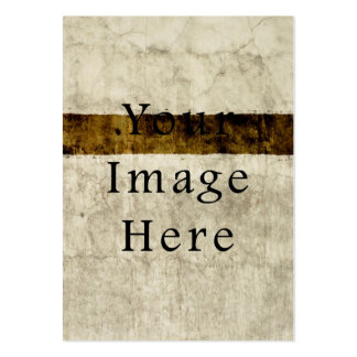 Vintage Plaster Beige Tan Brown Parchment Paper Large Business Card