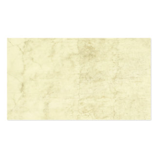 Vintage Plaster or Parchment Background Customized Business Card