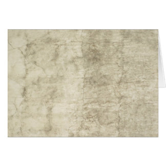 Vintage Plaster or Parchment Background Customized Card