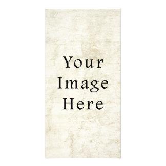 Vintage Plaster White Parchment Paper Background Card