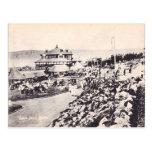 Vintage playa de Durban, océano Postales
