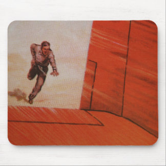 Vintage Playing Card Mousepad