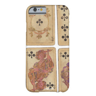Vintage Playing Cards Barely There iPhone 6 Case