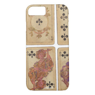 Vintage Playing Cards iPhone 7 Case