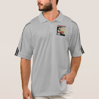 Vintage Please Keep the Park Clean WPA Poster Polo Shirt