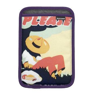 Vintage Please Keep the Park Clean WPA Poster Sleeve For iPad Mini
