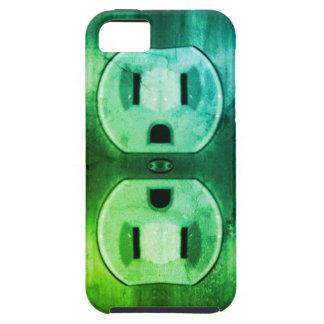 Vintage Plug Me In iPhone 5 Case