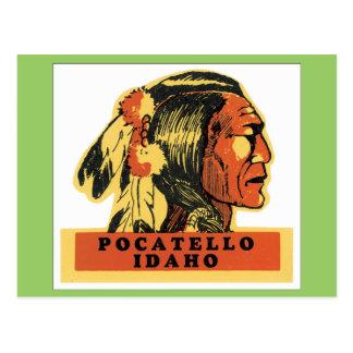 Vintage Pocatello Idaho Postcard