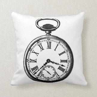 Vintage Pocket Watch pillow