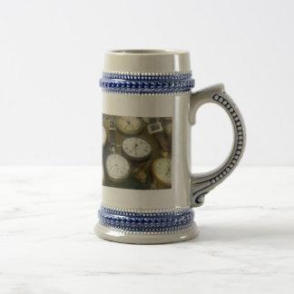 Vintage Pocket Watches Coffee Mug
