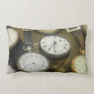 Vintage Pocket Watches Pillows