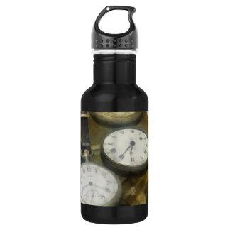 Vintage Pocket Watches Water Bottle