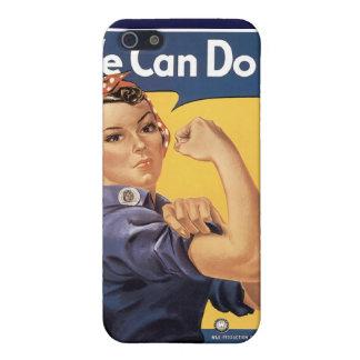 Vintage podemos hacerlo la caja iPhone4 de la mota iPhone 5 Protectores