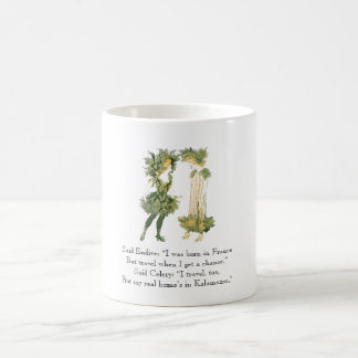 Vintage Poem Endive Celery Rhyme Cute Girls Coffee Mug