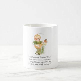 Vintage Poem Food Rhyme Rutabaga Yellow Turnip Kid Coffee Mug