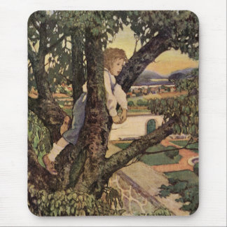 Vintage Poem, Foreign Land by Jessie Willcox Smith Mouse Pad