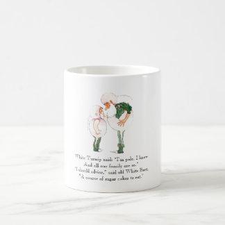 Vintage Poem Turnip Beet Rhyme Cute Kids Mug