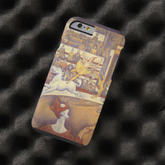 Vintage Pointillism, The Circus by Georges Seurat Tough iPhone 6 Case