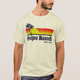 Vintage Poipu Beach T-Shirt