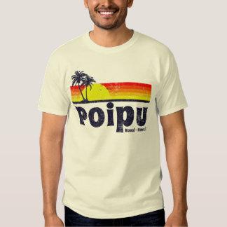 Vintage Poipu Kauai Hawaii Shirt