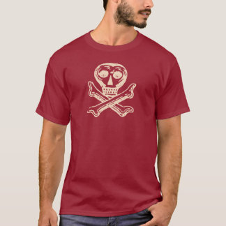 Vintage Poison Label Skull and Crossbones T-Shirt