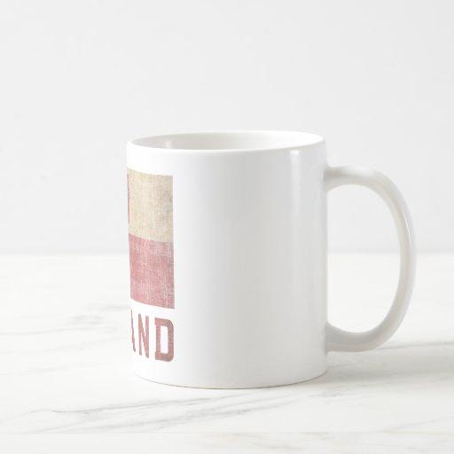 Vintage Poland Classic White Coffee Mug