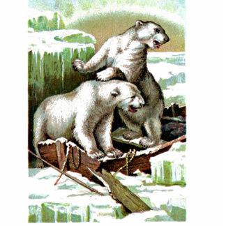 Vintage Polar Bear Cut Outs