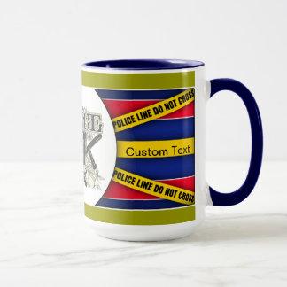 Vintage Police Officer Mug