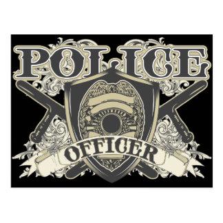 Vintage Police Officer Postcard