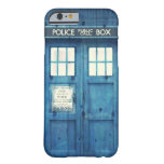 Vintage Police phone Public Call Box Barely There iPhone 6 Case