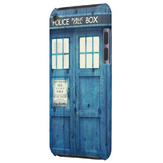 Vintage Police phone Public Call Box Barely There iPod Cases
