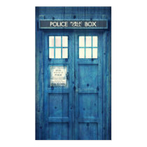 vintage, funny, vintage police phone box, humor, urban, police, phone, british, cool, retro, phone box, england, london, business card, Business Card with custom graphic design