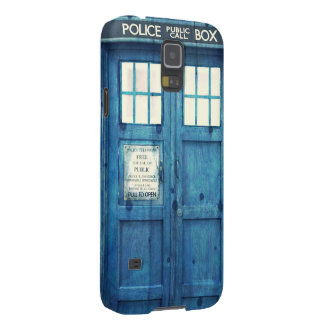 Vintage Police phone Public Call Box Case For Galaxy S5