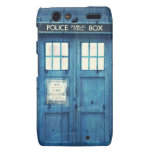 Vintage Police phone Public Call Box Droid RAZR Cover