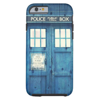Vintage Police phone Public Call Box Tough iPhone 6 Case