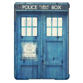 Vintage Police phone Public Call Box Cover For iPad Air