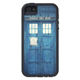 Vintage Police phone Public Call Box Cover For iPhone 5